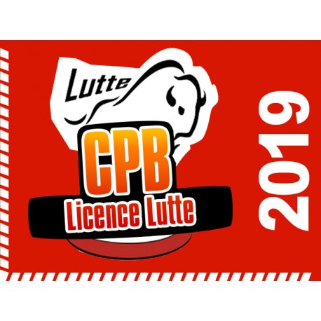 Licence 2019 Lutte CPB